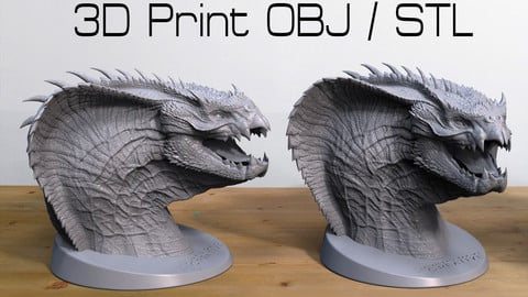 Viper Dragon 3D print and STL