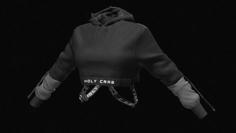 HOLY CRAB crop top