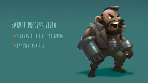 Lancer Character Concept Process Video and .psd