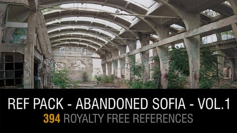 Ref Pack - Abandoned Sofia - Vol.1