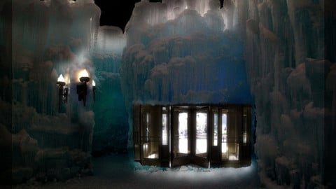 Ice Castle Entrance