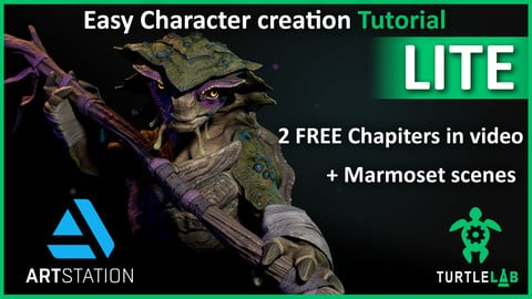 Easy Character creation Tutorial - LITE version