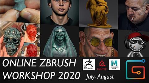 Online ZBrush workshop 2020