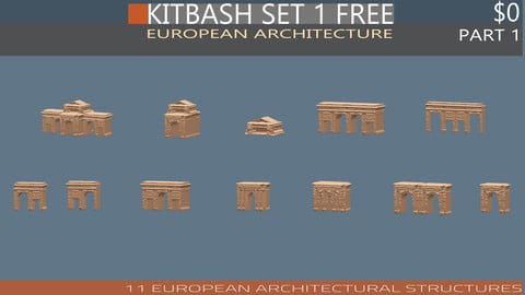 DOMA KITBASH SET 1 FREE- Part 1