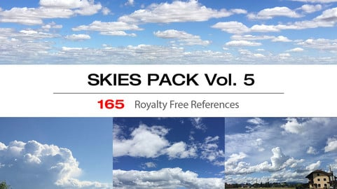 SKIES PACK Vol. 5 - BLUE SKIES