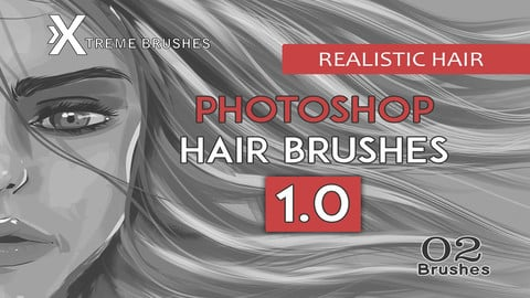 Photoshop Realistic Hair