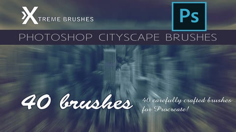 Photoshop Cityscape Brushes