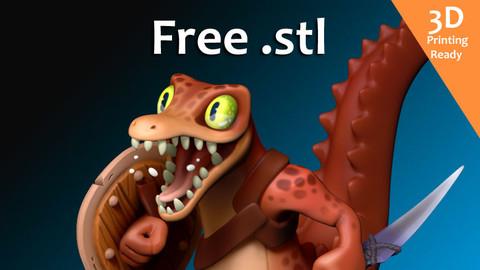 Reptile free stl