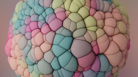 Procedural Fabric Bulbs
