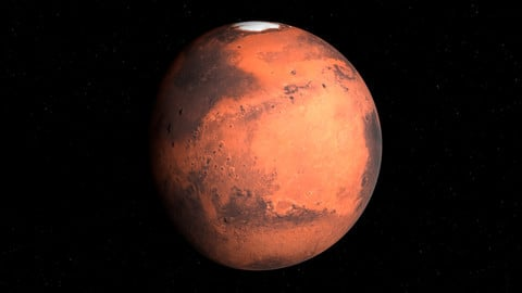 Realistic Mars 3D