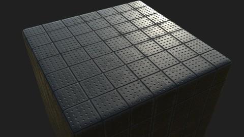 Rubber Floor Mat Substance .sbs .sbsar
