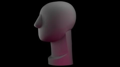 Round Head - John Asaro