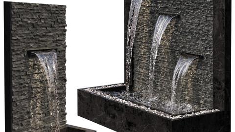 Wall Fountains - V-Ray AND Coronarenderer
