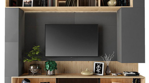 Tv Shelf 01