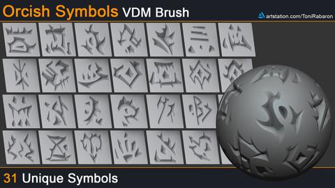 Free Orcish Symbols VDM Brush