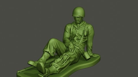 American soldier ww2 wounded A8