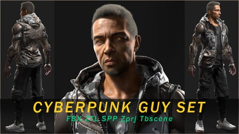 Cyberpunk_Guy_Set