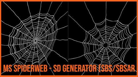 Substance Designer Spiderweb Generator