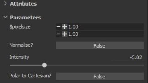 [SP Filter] Normal Intensity
