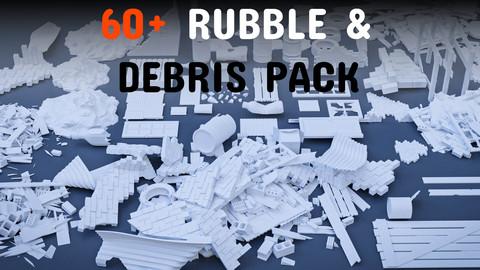 60+ Rubble & Debris asset pack