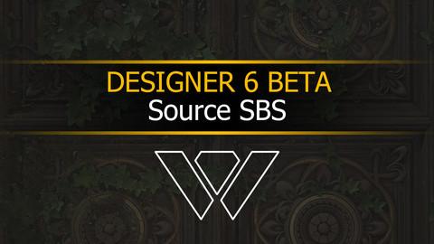Substance Designer 6 Beta Texture - Source .SBS
