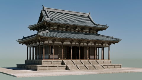 Japanese Modular Temple 2