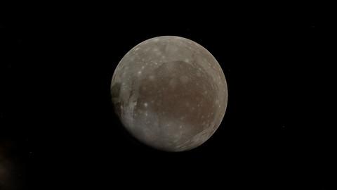 Ganymede - Jupiter's Moon