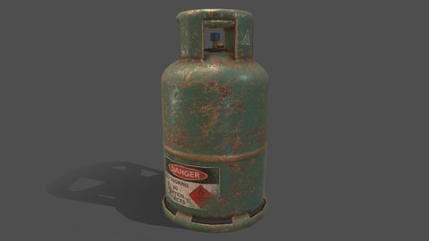 PBR Cooking Gas Cylinder - Green