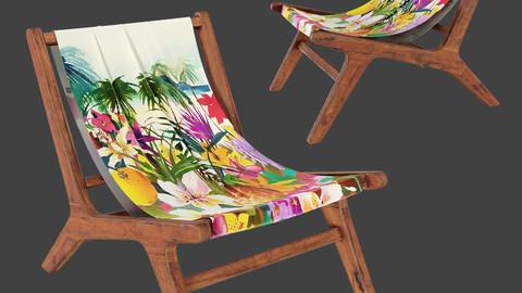 NAIROBI Garden Armchair No6 Exburant Colorful