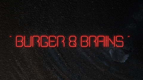 Burger and Brains font