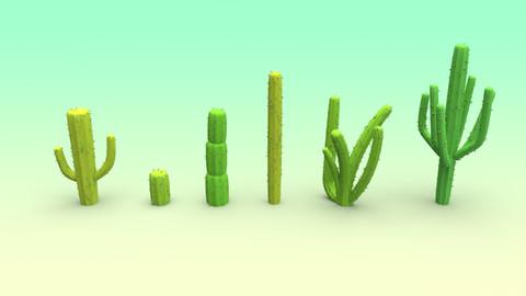 Cactus Set