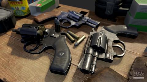 HQ PBR Revolver .38
