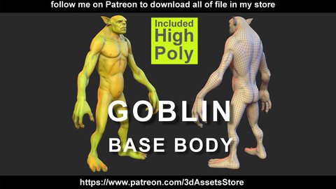 Character - Goblin Body Base