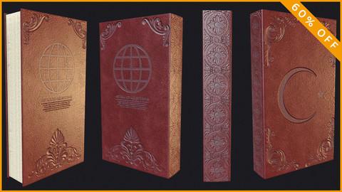Turkish Old Book / PBR