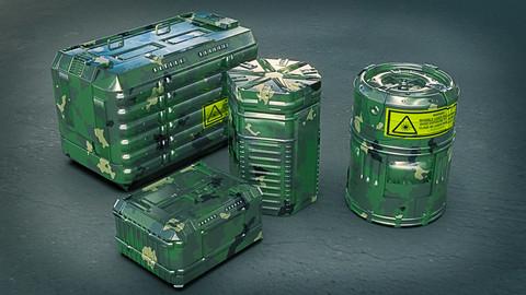 container sci-fi 2020