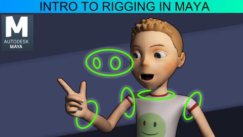 Intro to Rigging in Maya -  Tutorial