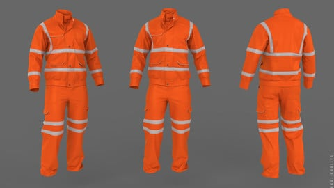 Safety Jacket (Marvelous Designer)