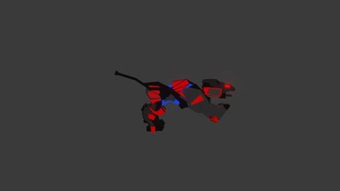 Zoid Animation 3D Design