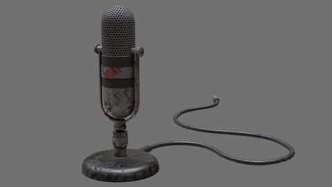 Retro Microphone 1B