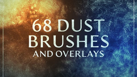 68 Dust Brushes & Overlays