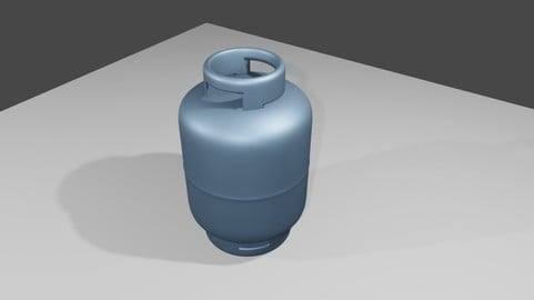 Gas Canister - Cylinder - Botijao de gas 3D model