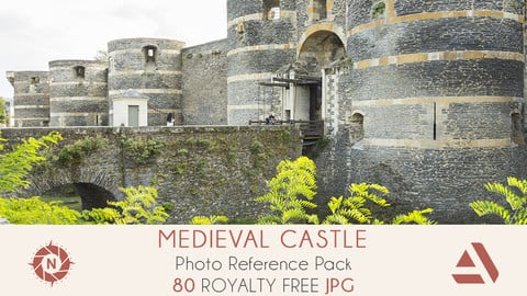 Photo Reference Pack: Medieval Castle