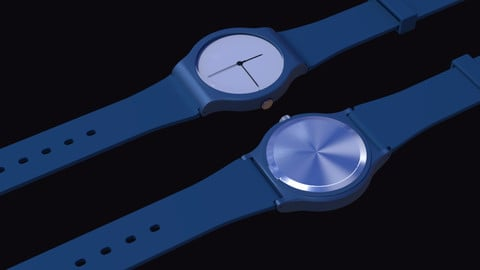 Simple Wrist swatch