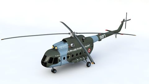 Mil Mi 8 3D Model