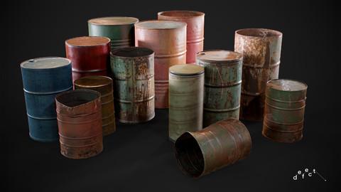 Rusty Barrels Bundle Vol.1