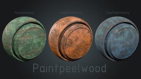 Paintpeelwood - Smart Material