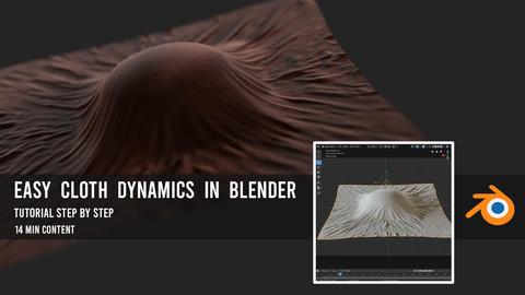 Easy Cloth Dynamic in Blender