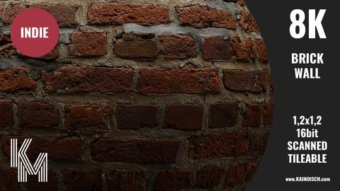 041 Brick Wall   Scanned Material   Indie