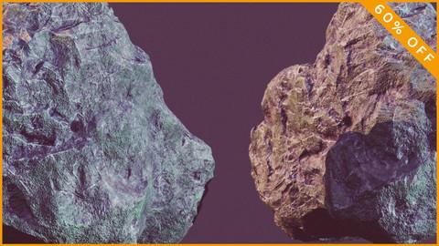 Rock 08 - PBR - Low Poly