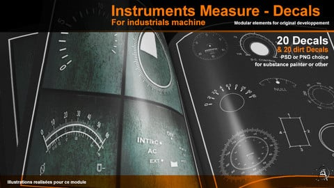 Instruments Measure Industrial Machine